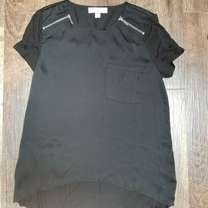 Women's Michael Kors black dress top Sz. M